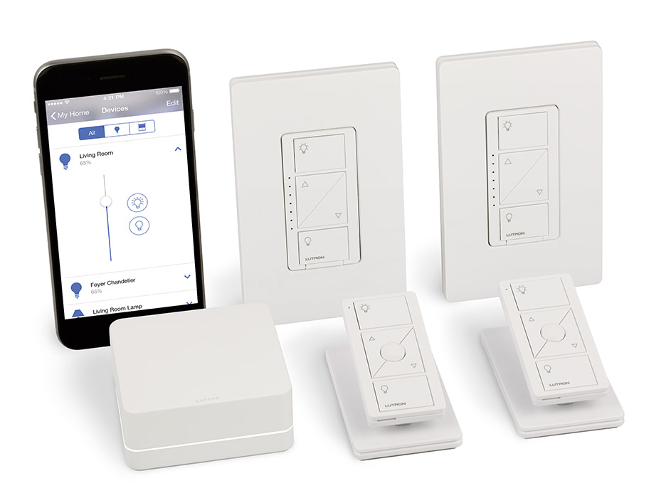 Product Photo of a Smart Home Dimmer Package